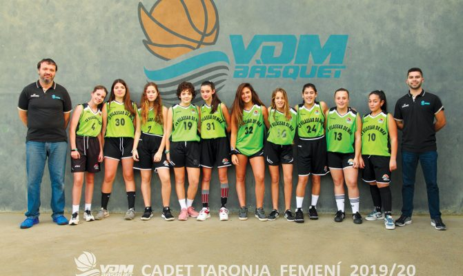 Cadet Taronja femeni 2019_20