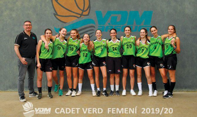 Cadet verd femeni 2019_20
