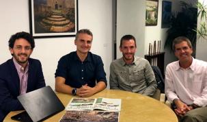 Alejandro Costa, Josep Triadó, Carles Castillejo i Jordi Viñes
