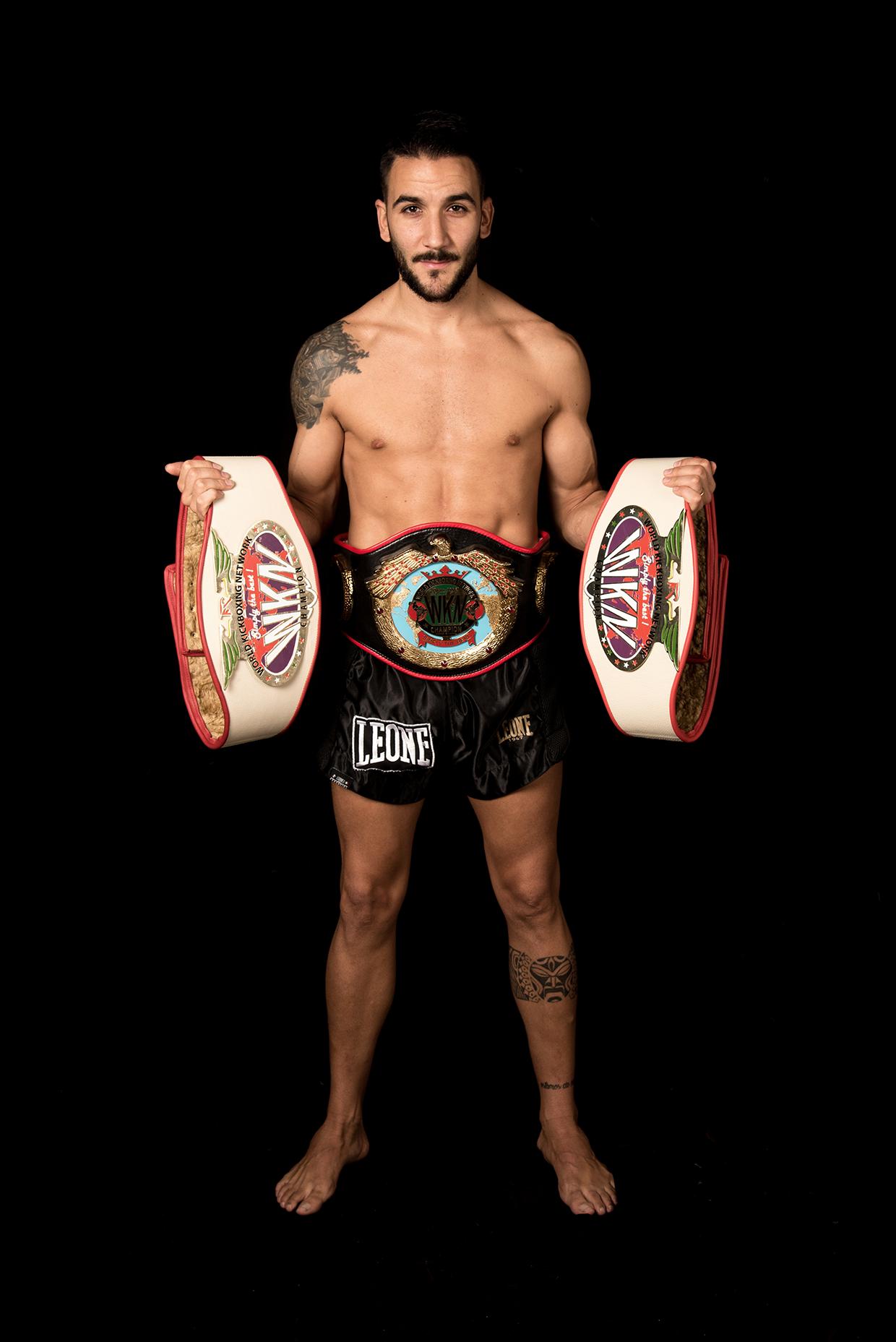 Campió de Catalunya amateur de kickboxing (Federació Catalana) 2013